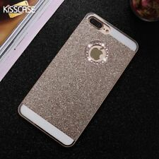 Phone Case For iPhone Case Lovely Bling Glitter Rhinestones Hard Cover