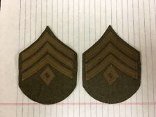 1902- WWI Reproduction First Sargent Chevrons