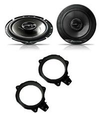 Peugeot 207 2006-2012 Pioneer 17cm Rear Door Speaker Upgrade Kit 240W