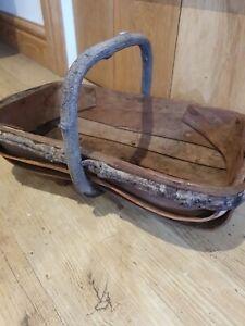Vintage Wooden Trug