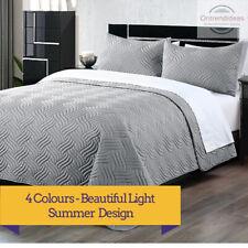 3 Piece Pinsonic Embossed Comforter Set 3pc Comforter Sets Bedspread Coverlet