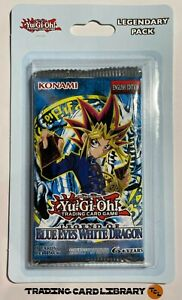 Yugioh - Legend of Blue-Eyes - Booster Pack - English - LOB - Sealed - Mint