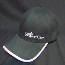 The Pampered Chef Adult Baseball Style Hat/Cap Black/Shiny Silver Cook One Size