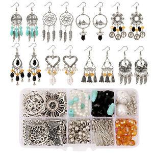 Jewellery Making Findings Kit DIY Earring Bracelet Necklace Making Tool for Gift
