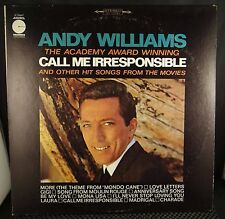 Andy Williams - Academy Award Winning Call Me Irresponsible And Other Hit Songs