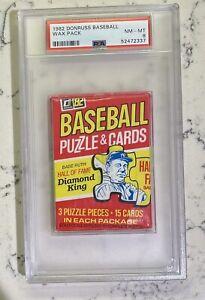 1982 Donruss Wax Pack PSA 8