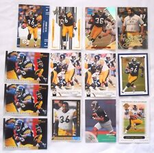 Lot of 13 Jerome Bettis Pittsburgh Steelers NFL Football Trading Cards