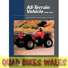 All Terrain Vehicle Workshop Manual 1988-1992