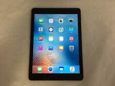 Apple iPad Air 1st Generation 32GB Space Gray WiFi Fair Condition - Engraved