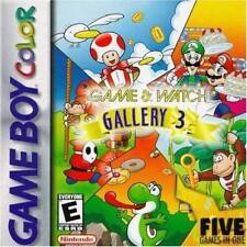 Game And Watch Gallery 3 On Gameboy Color Arcade Game Only 0E