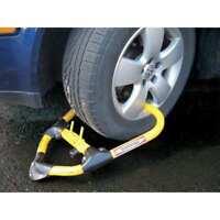 CALIFORNIA IMMOBILIZER CI00520 Anti-Theft Wheel Lock,Adjustable