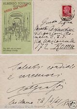 # MILANO: ALBERGO TOURING - ALBERGO GRAN TURISMO - 1941