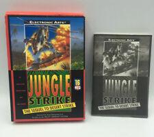 Jungle Strike Sega Genesis Video Game Box + Manual Only Soft Box NO GAME!