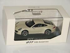 Porsche 911 Coupé White - 50th Anniversary - Sondermodell 1:43 NEU OVP NEW MISB