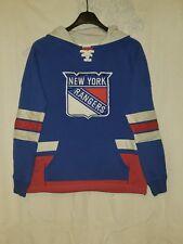 Boy's New York Rangers CCM Sweatshirt Jersey. Sz.L