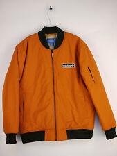 adidas Originals Firebird Bomberjacke College-Jacke Orange Herren Gr. M