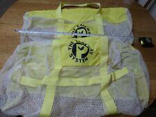 Two Heavy Mesh dive equipment bags scuba snorkeling Parkway