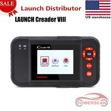 LAUNCH X431 CREADER VIII ABS SRS EPB SAS OBDII Scanneras CRP129 Code Reader