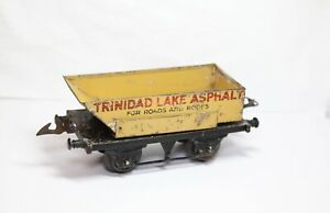 Hornby O Gauge Trinidad Lake Asphalt Rotary Tipper - Vintage Original