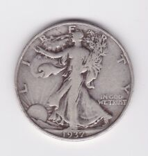 1937 Walking Liberty Half Dollar 50c 90% Silver US Coin FREE SHIPPING!!