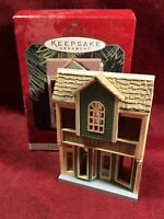 1997 Hallmark GROCERY STORE Nostalgic Houses and Shops ORNAMENT #15