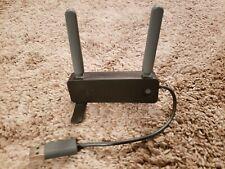 Microsoft XBOX 360 Wireless Networking Adapter WIFI USB Internet - Black