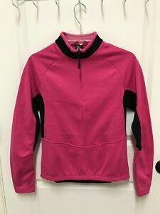 NWOT Sportful Women Small Long Sleeve Midweight Cycling Jersey Pink