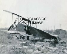 1922 AVIATRIX AMELIA EARHART'S 1ST AIRPLANE KINNER AIRSTER 8X10 PHOTO AVIATION