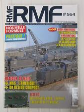 RMF N° 564 /réseaux:l'Amérique,un réseau copact/viaducs R & G/140 C Liliput/