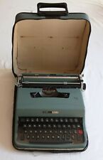 More details for olivetti lettera 32  portable typewriter with carry case and 2 spare ribbons