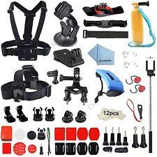 GoPro accessoires 60in1 Kit Pour Hero 5/4 // 3/2/1 caméras d'action - 60 pièces jointes