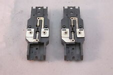 """AURORA MODEL MOTORING """"TUFF ONES"""" SILVER PLATED BARE CHASSIS ~ 2 PC ~ NOS ~ RARE"""