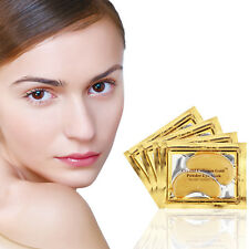 30pairs Collagen Under Eye Patches Crystal Gold Mask Remove Dark Circles Wrinkle