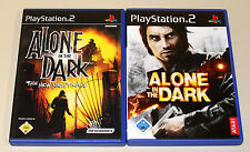 2 PLAYSTATION 2 SPIELE SET - ALONE IN THE DARK & THE NEW NIGHTMARE