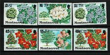 Montserrat 1980 Flowers overprints SG476/81 MNH