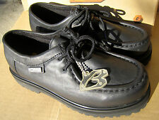 Buffalino Transit Lo Youth Us 6.5 Black Lether Boot