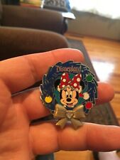 Disney Pin - Disneyland Diamond Wreath - Minnie Mouse LE 1/2000