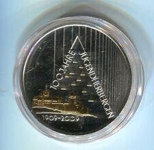10 Euro Silber 2009 Jugendherbergen mit Goldapplikation (M5360)
