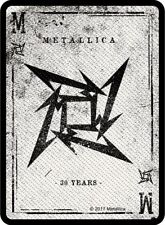METALLICA PATCH / AUFNÄHER # 68 NINJA LOGO PLAYING CARD - 10x7cm