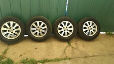 Set of 4 wheels with alloy rims for Honda Civic 2003