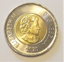 2020 CANADA 2 DOLLAR TOONIE DIRECTLY FROM WINNIPEG MINT ROLL- combined shipping