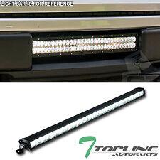 """Topline For Mercedes 30"""" 150W CREE LED Light Bar 1-Row Spot Beam Work Fog Lamp"""
