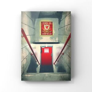 Liverpool fc art print wall decor LFC poster bedroom gift size A4