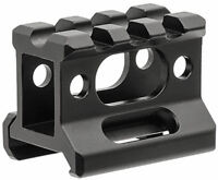 "UTG MT-RSX1S Super Slim Picatinny Riser Mount 1"" High 3 Slots"
