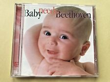 Baby Needs Beethoven, CD, 1999 Delos Records, Children's, compilation, near mint