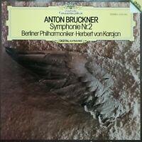 Bruckner: Symphony No. 2 / Karajan / BPO / DG LP 2532 063