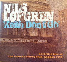 Nils Lofgren Keith Don't Go-Live Town & Country Club, London 1990 CD NEW SEALED