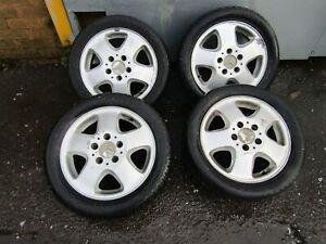 Mercedes A Class W168 97-04 alloy wheels wheel x4 set 195 50 15 5.5J x15H2 ET54