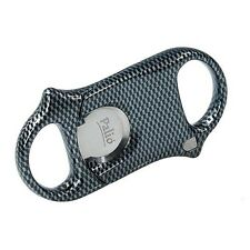 Palio Cigar Cutter - Surgical Steel - Carbon Fiber - New in Box