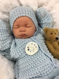REBORN BOY HEAVY VALUE BABY FIRST REBORN SPANISH SET & MAGNETIC DUMMY M
